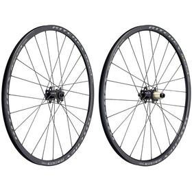 "Ritchey WCS Zeta Kit de roues 28"" Disc CL Clincher 142x12 mm Shimano/SRAM 11 vitesses TLR, black"